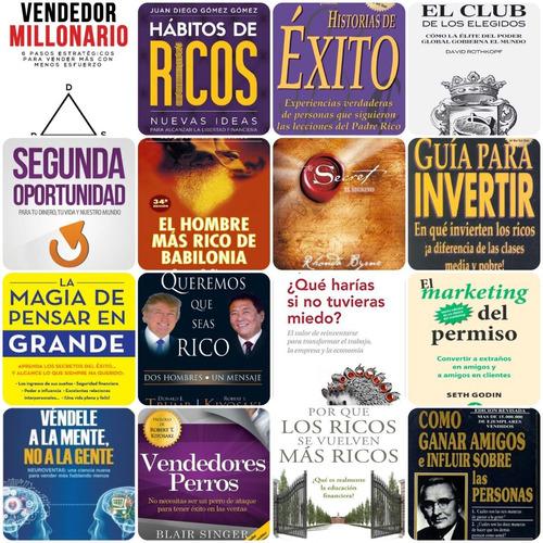 lote +50 mejores libros de educación financiera