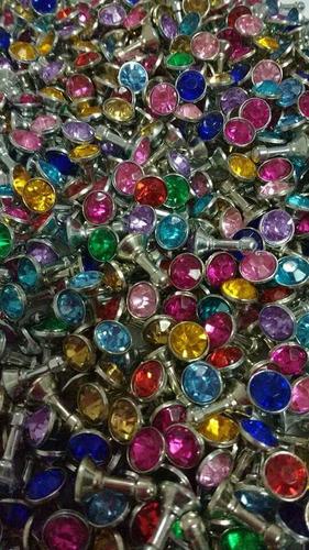lote 50 plugs cubre polvo tipo diamante ipad celular