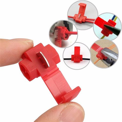 lote 500 conector eléctrico empalme rápido calibreawg 22-18