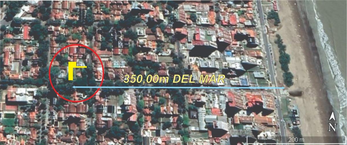 lote 518 m2 zona centro 350 mts del mar/apto multifamiliar