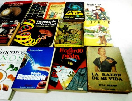 lote 59 libros usados esp e ing + diccionario