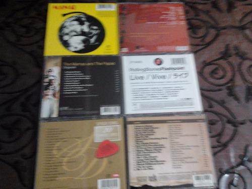 lote 6 cd  vox dei - los rolli- beatlemania -s.denis- manal-