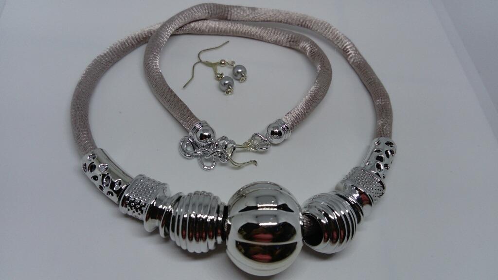 3509435b4d00 Lote 6 Collares Mayoreo Bisuteria Moda Mujer Artesanal -   360.00 en ...