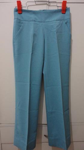 lote 6 pantalones dama rectos polyester. talle 40,42.