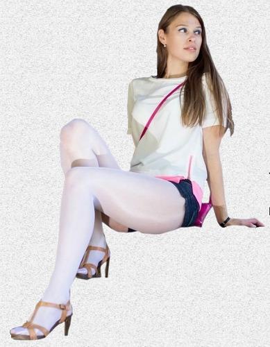 lote 6 pantimedias para hooters edecan bailarina porrista