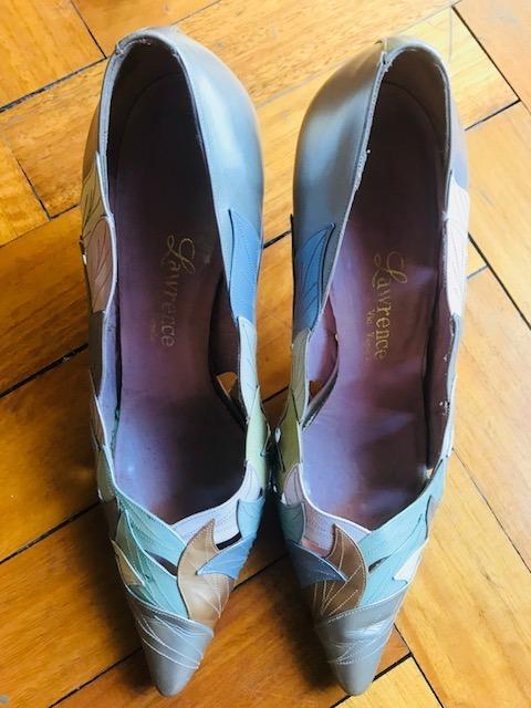 Zapatos Cuero Mujer 700 2 Antiguos Lote 6 Calidad Pares De qPnxpTt