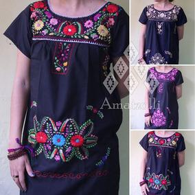 ad16a94e4 Vestidos De Manta Bordados Cortos - Corto de Mujer en Mercado Libre México