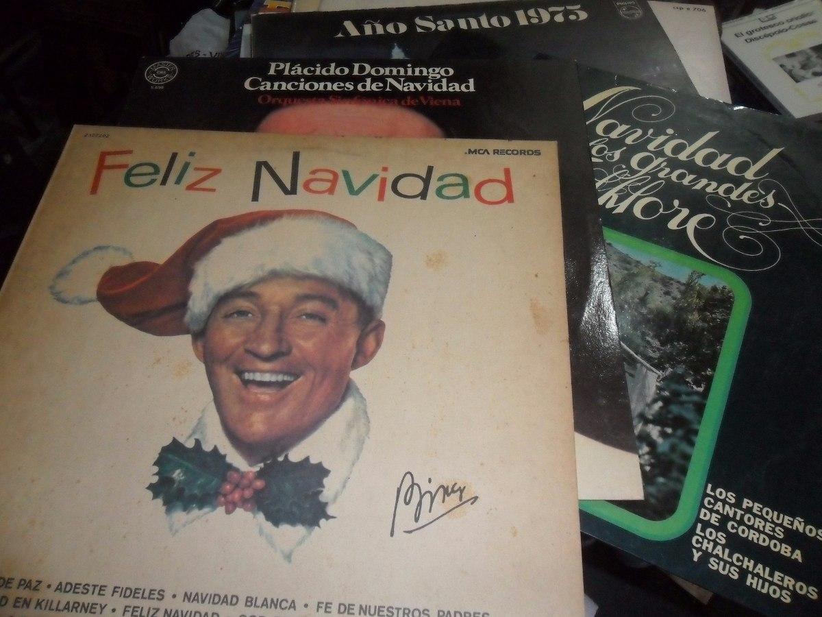 Placido Domingo Feliz Navidad.Lote 6 Vinilos Nuevos Disqueria Cerrada Navidad Y Ano Santo