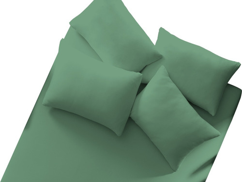 lote 7 lençol de malha 100% algodão com elástico cores liso