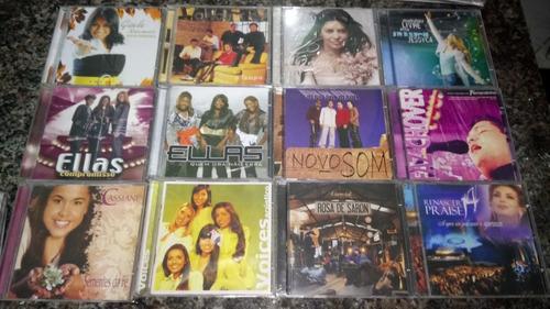 lote 70 cds gospel evangelicos usados atacado colecionador
