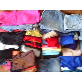 Lote 70 Itens De Roupas Usadas Femininas E Infantil Sapatos