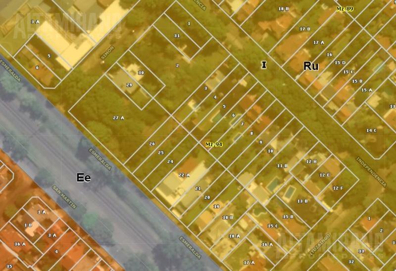 lote 7,50 x 40 mts. zona hölters! residencial unifamiliar.