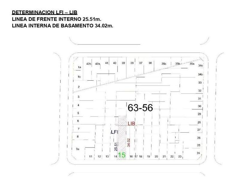lote 7.79 x 43.52 villa urquiza 750m2 vendibles