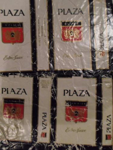 lote 8 marquillas de cigarrillos importadas