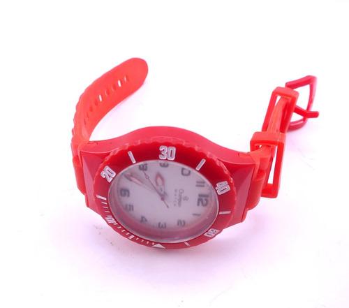 lote 8 pulseira para relogio champion rosa vermelho b1248