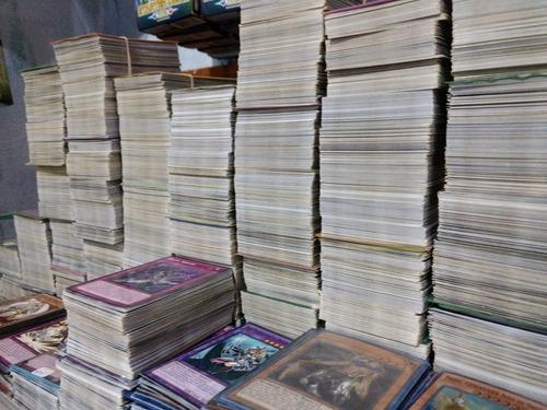 lote 800 cartas comunes yu-gi-oh!