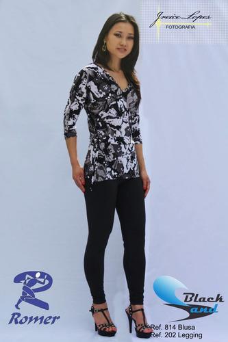 lote 9 pçs (4g/5gg) blusas malha fria- estampas variadas