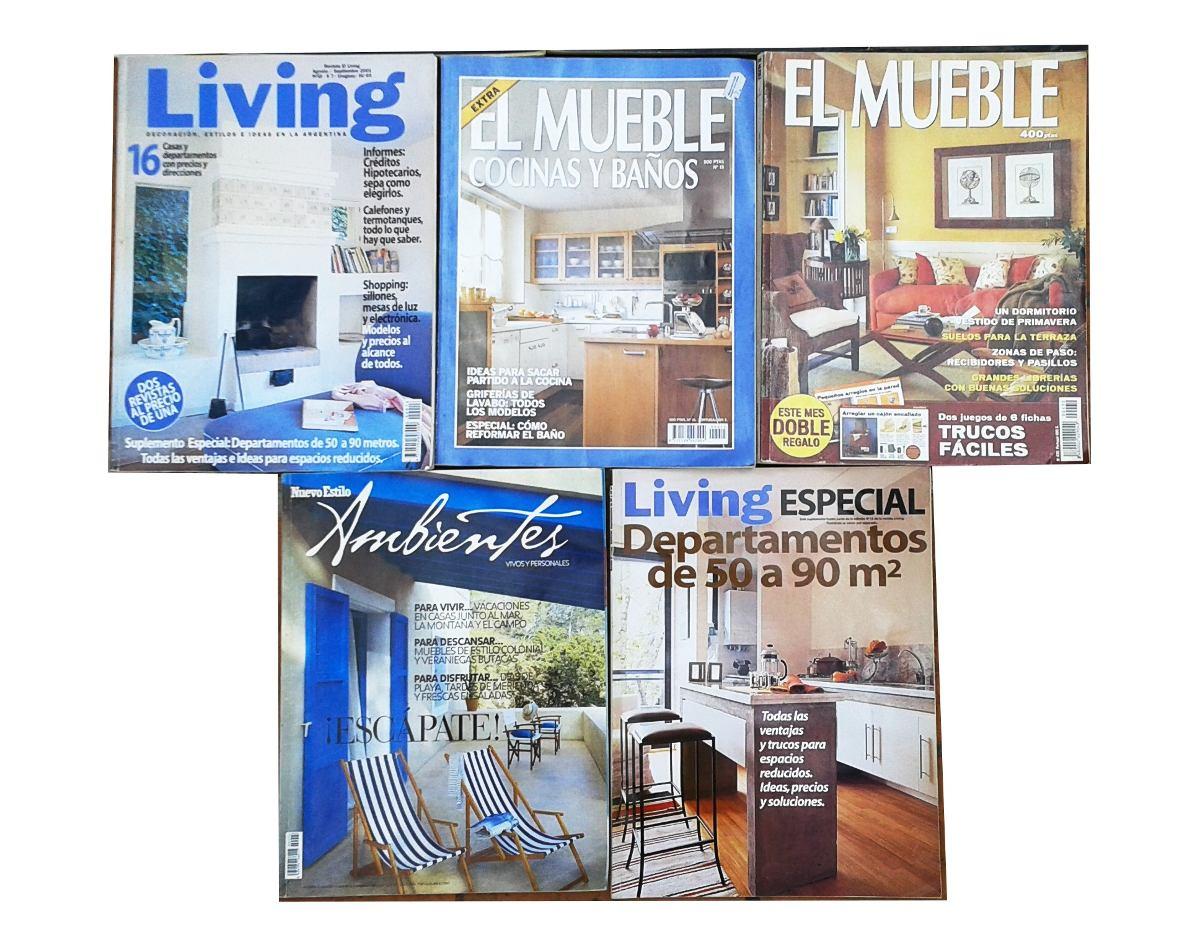 Lote 9 Revistas Decoraci N Decormundo Living Mueble Y Otras