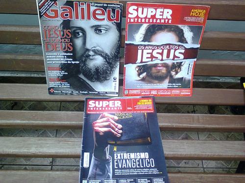 lote 9 revistas mundo estranho / superinteressante / galileu