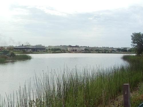 lote a la laguna - el canton - barrio islas - oportunidad!!!