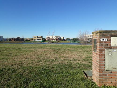 lote a la laguna - el canton - barrio norte - oportunidad!!!