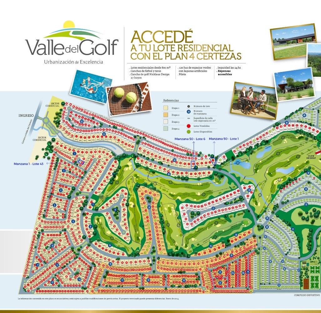 lote a la venta en country valle del golf