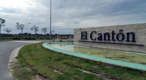 lote a laguna - el canton - barrio puerto - oportunidad!!!