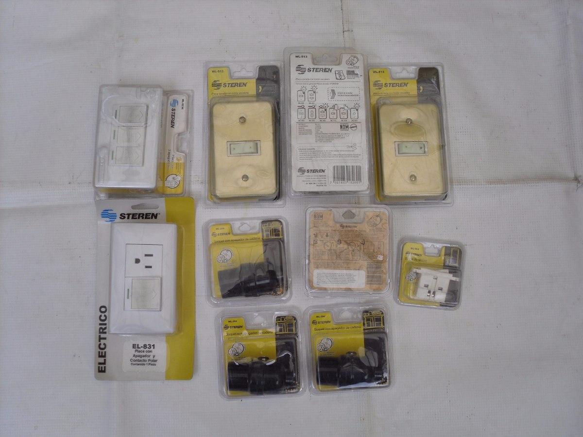Lote accesorios electricos varios para el hogar for Accesorios hogar