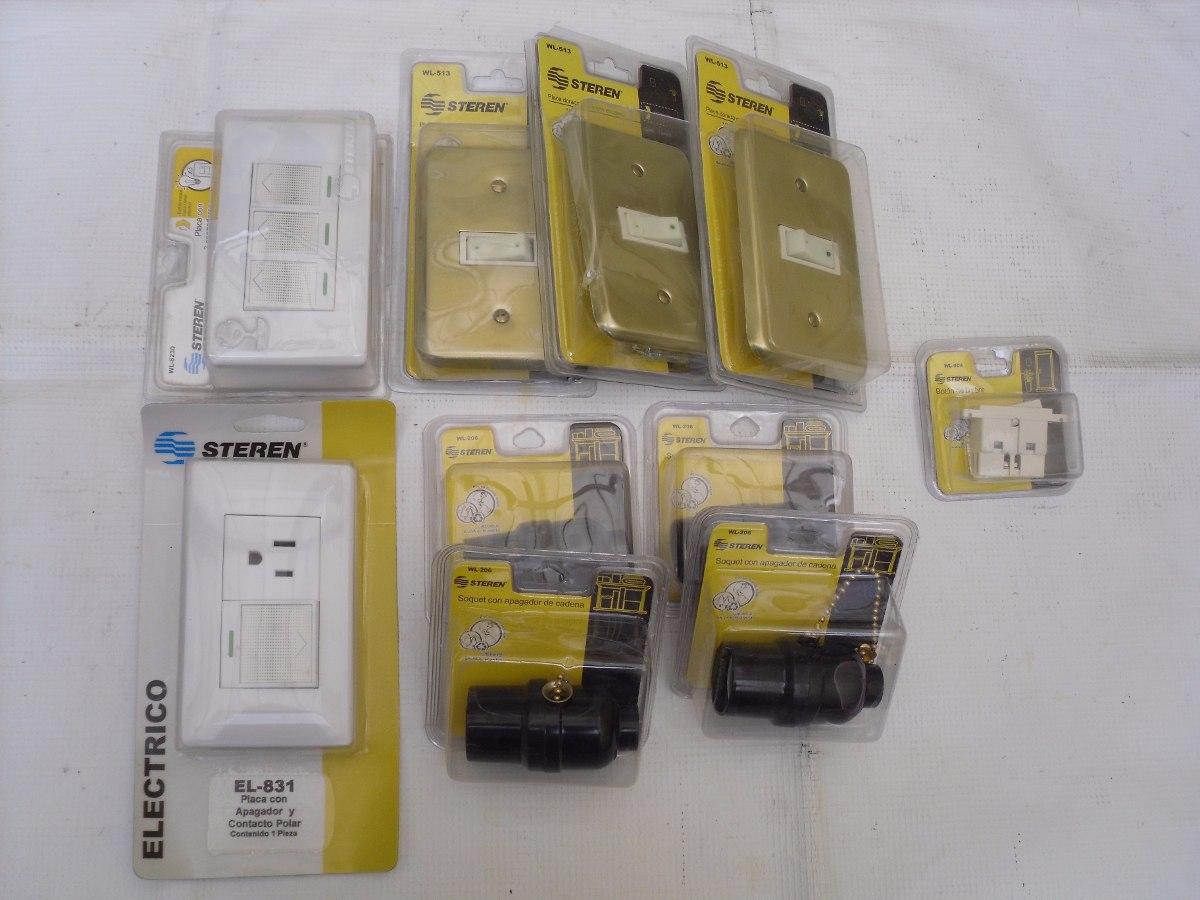 Lote accesorios electricos varios para el hogar for Accesorios de hogar