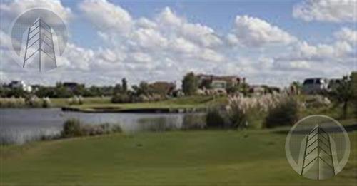 lote al agua en lagos del golf nordelta, oportunidad!