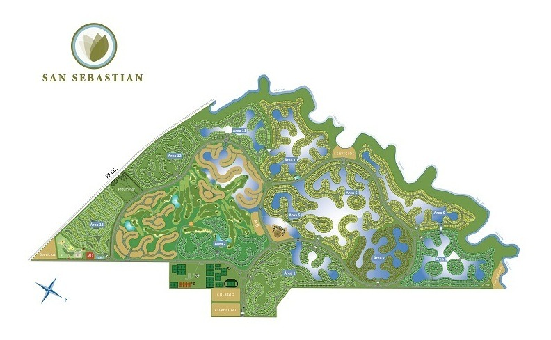 lote al golf #0-100 - san sebastian - area 2 - 1052m2 #id 612