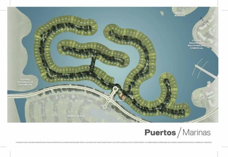 lote al lago central marinas - puertos marinas 17