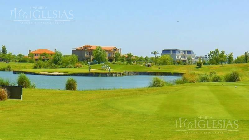 lote al lago en venta  el golf nordelta