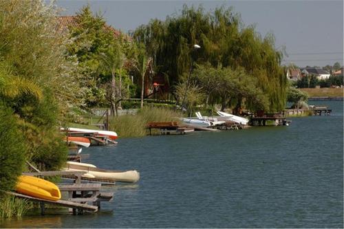 lote al lago. puertos del lago. barrio marinas