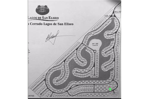 lote al rio 327 de 864m2 - lagos de san eliseo