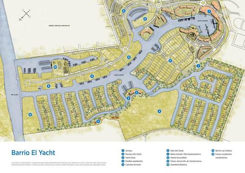 lote al río en venta el yacht nordelta