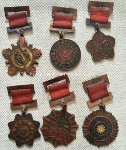 lote antiga medalha guerra china dinastia qing mundiibr g2