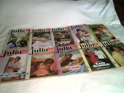 lote antigo de revistas ( julia )