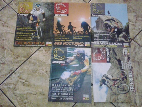 lote antiguas revistas contrapedal