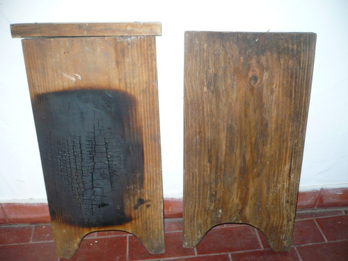 lote antiguas tablas de lavar de madera reciclar