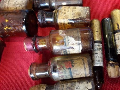 lote antiguos frascos perfume frances colonia