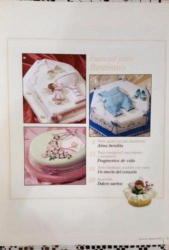 lote aprendiendo a decorar tortas 1&2 - rec. básicas y baut.