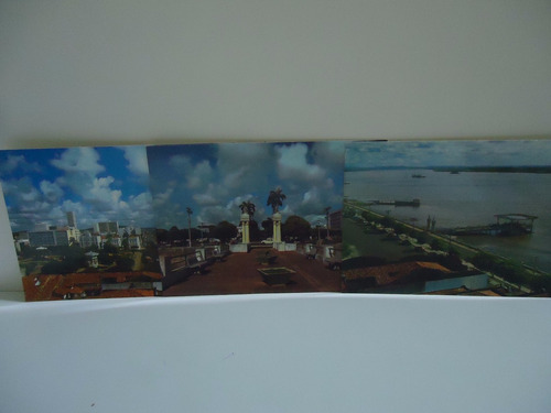 lote - aracaju (sergipe) 3 cartões postais