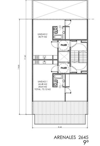 lote arenales y anchorena 8,66 x 18 apto 1000 m2 vend por enrrase