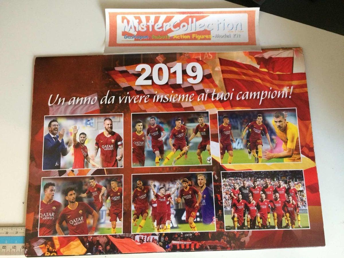 As Roma Calendario.Lote As Roma Futebol Seria A Autografo Calendario Bone