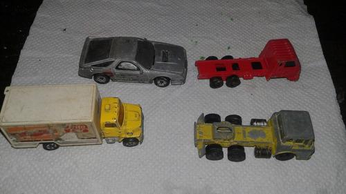 lote autitos camioncitos japoneses y chinos década del 80