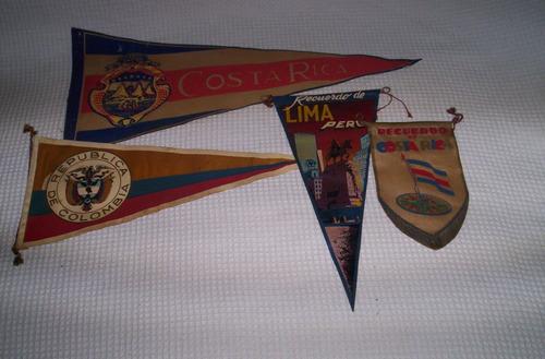 lote banderines variados de paises..leer..