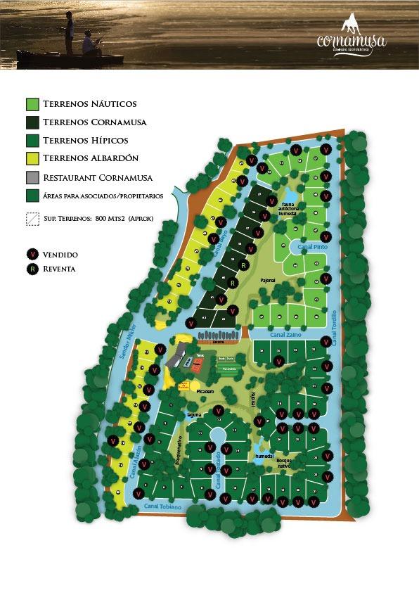 lote barrio cerrado cornamusa (náutico hípico) 2da sec islas