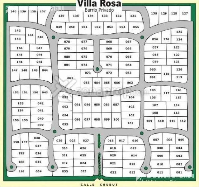 lote - barrio cerrado villa rosa