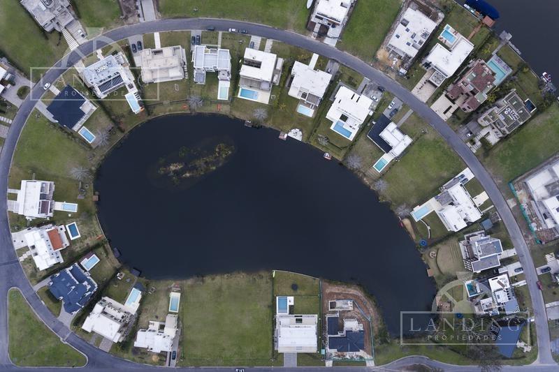 lote - barrio náutico albanueva - al rio con amarra, oportunidad, toma depto en forma de pago